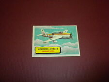 PLANES trading card #49 TOPPS 1957 Army Navy Air Force - WORLD AIRPLANES - WAR