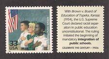1954 DESEGREGATION OF PUBLIC SCHOOLS - U.S. POSTAGE STAMP - MINT CONDITION