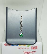 Sony Ericsson W580 W580i 580 Cellphone Battery Door Back Housing Cover Gray.