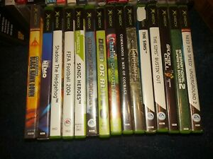 Xbox original ONE GAME ONLY