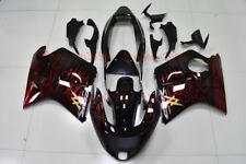 Fairing Set For HONDA Blackbird CBR1100XX 1997-2007 CBR 1100 Kit #01 Flame Black