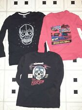 Falls Creek Shirts Lot of 3 Youth Boys 10/12 Large Long Sleeve Shirts!