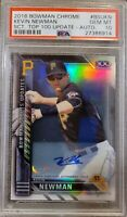 2016 Bowman Chrome Scouts Kevin Newman Auto Rookie 19/199 HOT RC PSA 1/1 POP 1