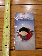 DC Chibi Pin Collection: SUPERMAN Collectible Enamel Pin from PopFun
