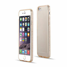 COVER CUSTODIA IMORBIDA con BRILLANTINI GIOIELLI PER  IPHONE 6 / 6S / 6 PLUS / 7