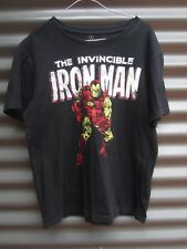 Marvel Iron Man T Shirt Size Small Measured Chest 100 cm