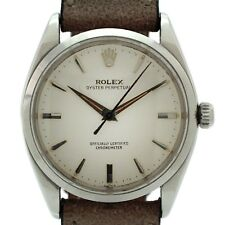 VINTAGE 1955/6 ROLEX OYSTER PERPETUAL MODEL 6564 , 34mm