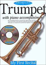 MY FIRST RECITAL FOR TRUMPET & Piano Accomp Music Book & Playalong CD ShopSoiled