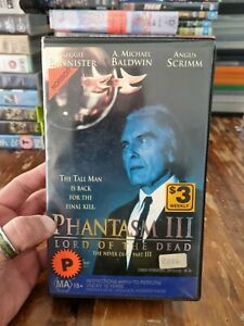 Phantasm 3 VHS Lord Of the Dead( Mint Condition Clam Shell )