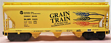 Lionel 2000 Grain Train 3 Bay Hopper Blmr 1025 #17139 Pre-Owned / F