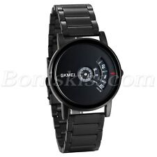 Men's Fashion Unique Creative Design Stainless Steel Analog Quartz Wrist Watch