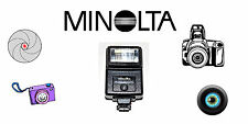 VINTAGE. MINOLTA AUTO 200X ELECTRONIC SHOE MOUNT CAMERA FLASH. USA SELLER.