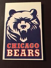 Chicago Bears 1985 NFL pocket schedule - United Airlines