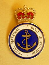 More details for hallmarked silver royal national life-boat institution silver award badge rnli