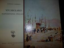 RAFFAELE ANDREOLI VOCABOLARIO NAPOLETANO ITALIANO BERISIO EDITORE NAPOLI 1966
