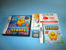 The Legendary Starfy (Nintendo DS) Lite DSi XL 3DS 2DS w/Case, Manual & Inserts