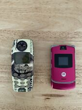 motorola v3 and nokia 3360 (don't know if they work)