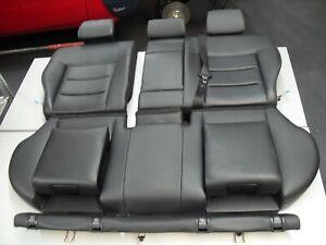 Original Mercedes Benz Rücksitzbank Leder schwarz mit Kindersitzen W212 Kombi