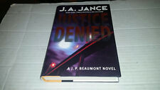 Justice Denied by J.A. Jance (2007, Hardcover) SIGNED 1st/1st