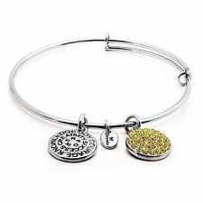 Chrysalis Good Fortune Citrine Standard Adjustable Bangle