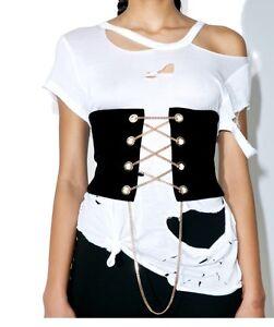 Black Corset Belt Gothic