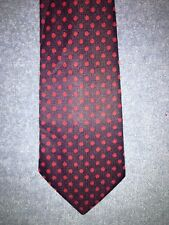 NEW Vintage Blue Tie with Red Polka Dots - Never Worn