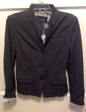 NWT Banana Republic Women's Gray Stretch Jacket  RN 54023 Size 4  Retail - $140