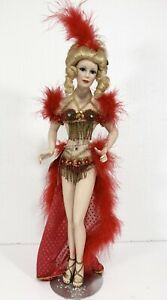 Show Stoppers Doll Las Vegas Style Showgirl Dancer 19""