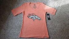 Denver Broncos Light Orange Womens Shirt