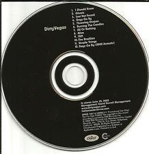 DIRTY VEGAS Self Titled USA MINT ADVNCE PROMO DJ CD MINT 2002 dirtyvegas