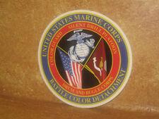 USMC Sticker Decal Battle Color Detachment Color Guard