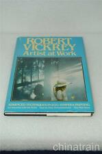 Artist at Work Robert Vickrey 1979 Signed Book Egg Tempera Painting Techniques