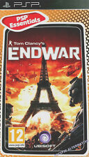 NEUF jeu TOM CLANCY'S ENDWAR playstation PSP sony game francais guerre action
