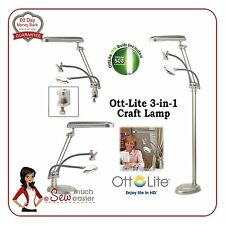 Ott-Lite Natural Daylight 3-in-1 Ottlite Floor Lamp Desk Lamps light ottlight
