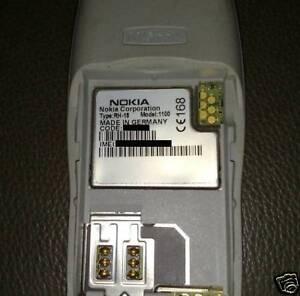 Nokia 1100 RH-18 Fabriqué En Allemagne 2003 Usine Bochum