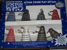 Doctor Who Dapol Limited Edition Davros & Dalek Army Action Figure Set