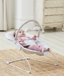 Baby Grey Elephant First Bouncer With Soothing Music Vibration & Toys 0m+ 144