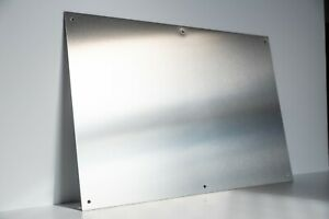 Brushed Stainless Steel Magnetic Notice Memo Message Board Display A2 A3 A4 A5