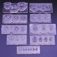 HK- 3D Silicone Mold Mould for Nail Art DIY Tips Decoration Accessories Peachy