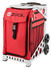 Zuca Bag Chili Insert & White Frame w/Flashing Wheels - Free Seat Cushion< 00004000 /a>