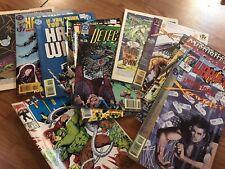Lot Of 10 Comic Books DC MARVEL 1990's