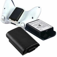 Black White AA Battery Pack Back Cover Shell Case Kit For Xbox360 Controller 1pc