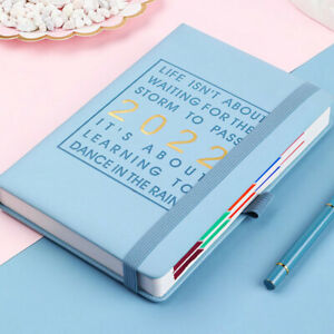 2022 A5 Planner Notebooks Planner/ Diary/ Journal Noteboos For School & Office-