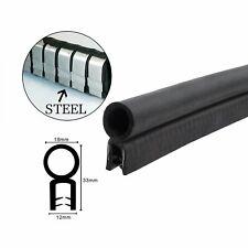 Top Bulb Seal Trim Rubber Strip Car Boot Toolbox Door Edge Guard Soundproof 4.5M