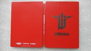 Wolfenstein The New Order Steelbook ONLY PS4/XBOX ONE/PC/PS3 (NO GAMES)