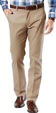 NEW Dockers Men's Slim Fit Signature Khaki Pant D1 Timber Wolf Stretch 34x32
