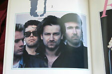 1986 Amnesty concert program U2 Sting Miles Davis Lou Reed Santana Peter Gabriel