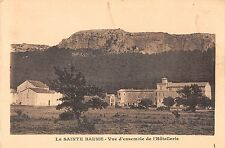 BF6779 vue d ensemble de l hotellerie la sainte baume france      France