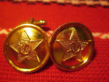 """Boutons manchette Cufflink 22mm USSR URSS RUSSIA RUSSIE ARMY RED ARMÉE ROUGE """"2"""""""