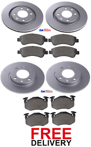 2x Brake Discs Vented fits PEUGEOT 206 1.9D Front 98 to 02 With ABS 247mm Pair